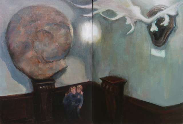 , 'Diptyque escalier galerie paléontologie,' 2018, Under Construction Gallery