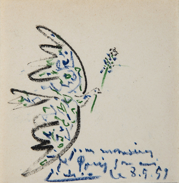 Pablo Picasso, 'Colombe', 1959, HELENE BAILLY GALLERY