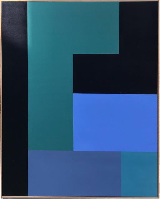 Tim Woolcock, 'Prussian Blue Amalgan 1', 2018, Ransom Art