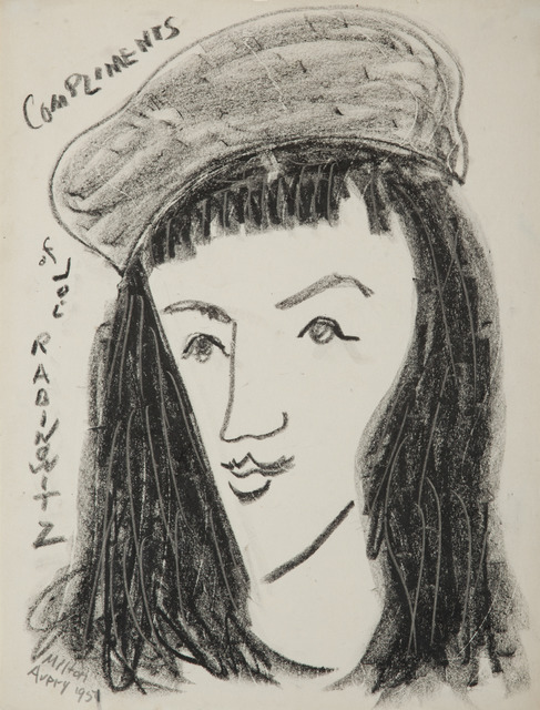 , 'March Avery in Beret,' 1951, Childs Gallery