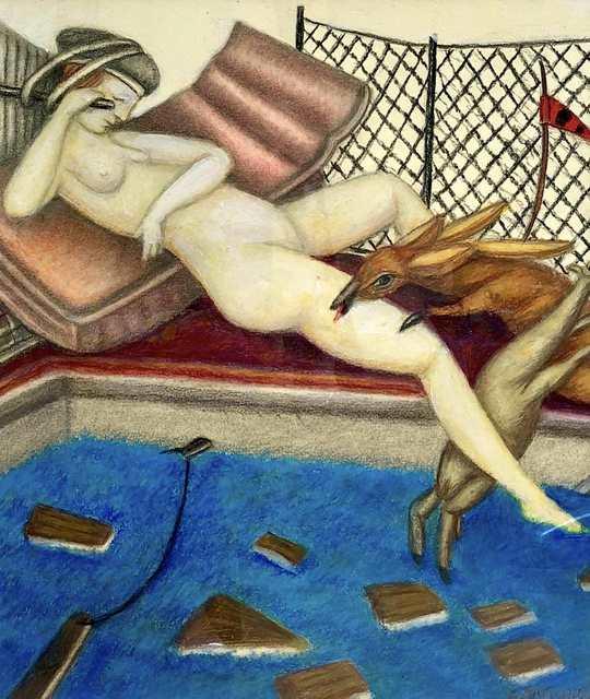 Carmen Aldunate, 'The Hot of the Jacuzzi', 2018, Kunst.cl