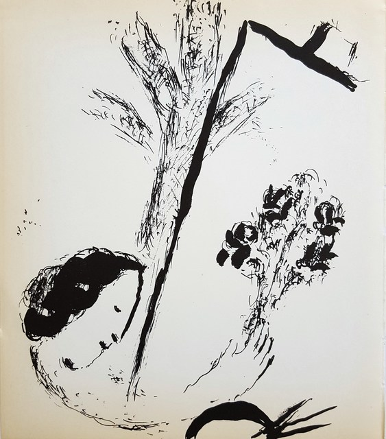 Marc Chagall, 'Bouquet with Hand', 1957, Graves International Art