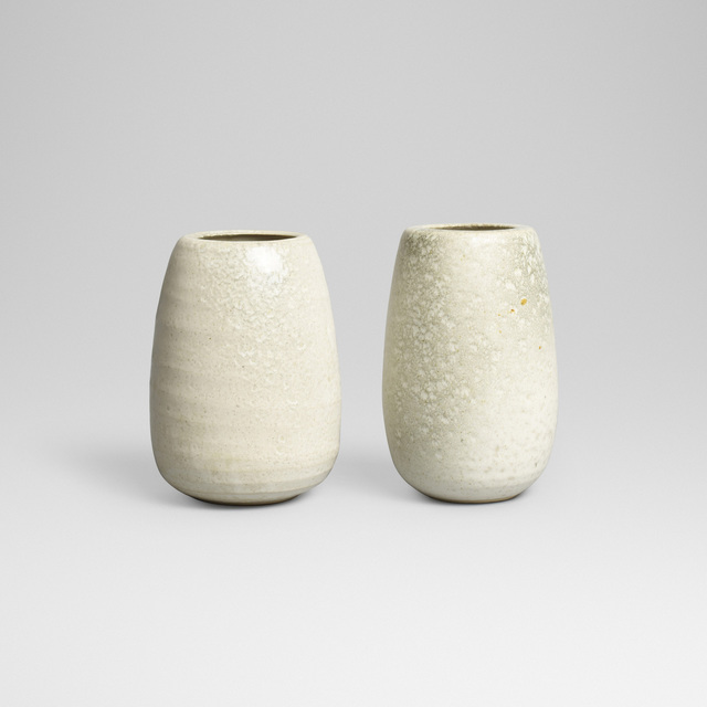 Aage and Kasper Wurtz, 'vases, pair', Wright