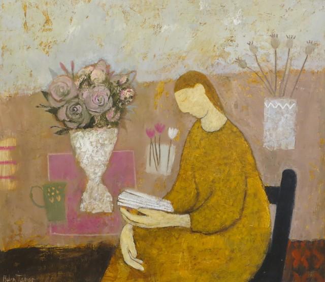 , 'Reading Poetry,' 2019, Thompson's Galleries