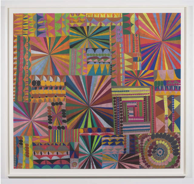 William J. O'Brien, 'Untitled (WOB.11453)', 2015, Drawing, Collage or other Work on Paper, Colored pencil on paper, McClain Gallery