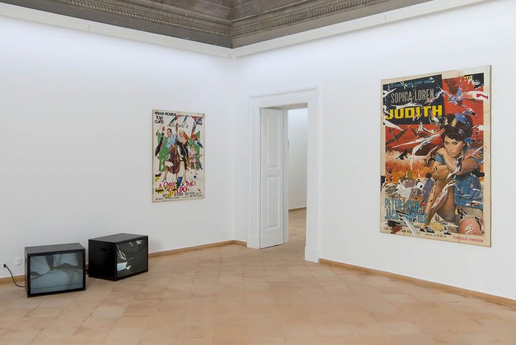 Mimmo Rotella - Anna Franceschini installation view © Fondazione Mimmo Rotella