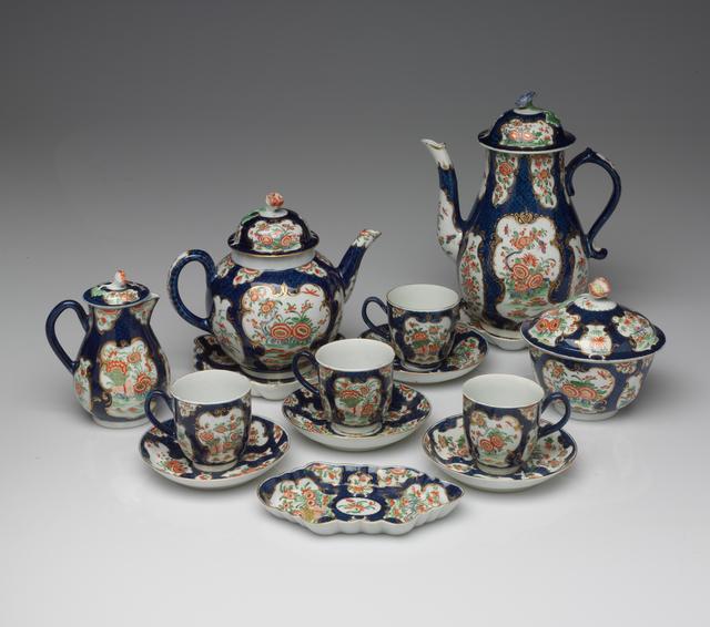Royal Worcester, 'Tea Service', circa. 1770, RISD Museum