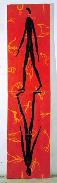 Roberto Barni, 'Identità', 2003, Painting, Oil on canvas, Galleria Alessandro Bagnai