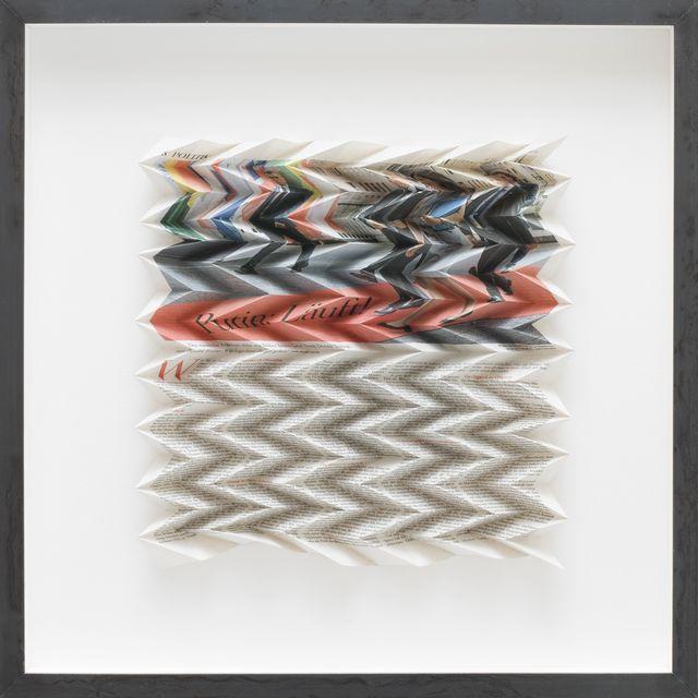 , 'DIE ZEIT, POLITIK, 26. JULI 2017,' 2018, Galerie Elisabeth & Klaus Thoman