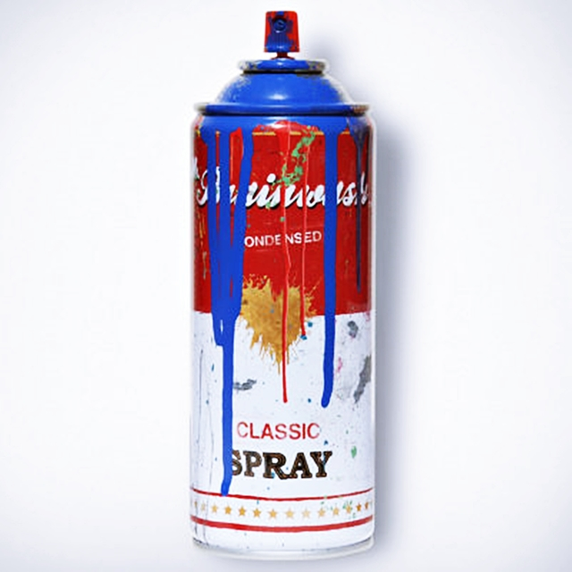 , 'Spray Can (Blue),' 2013, Alpha 137 Gallery