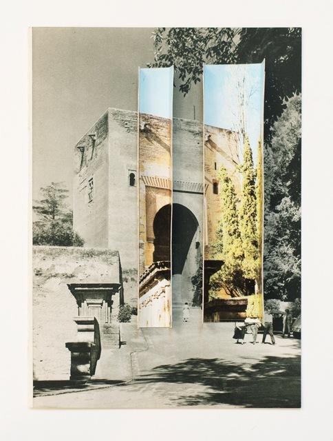 , '»Gate of justice 1971 / 1960« ,' 2015, Raum mit Licht