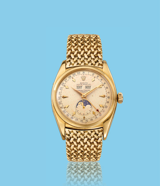 , 'Yellow gold wristwatch, ref. 6062,' ca. 1950, Davide Parmegiani Fine Watches
