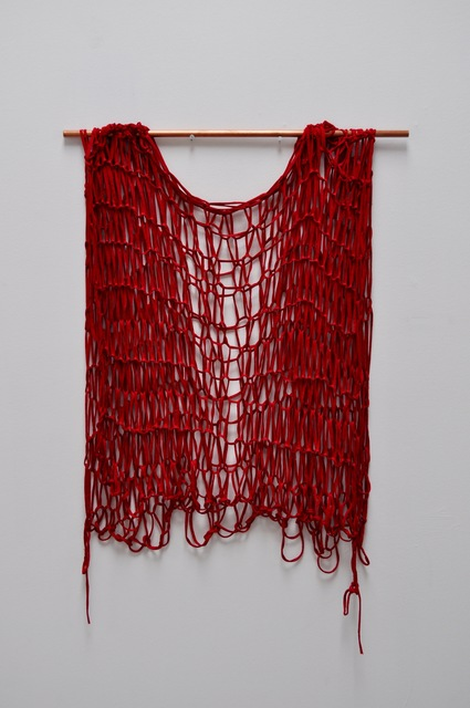 , 'Red Dress,' 2017, Glass Rice