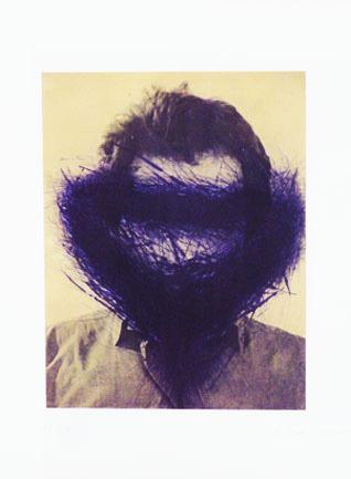 , 'Lila Maske,' 1999, Galerie Sabine Knust
