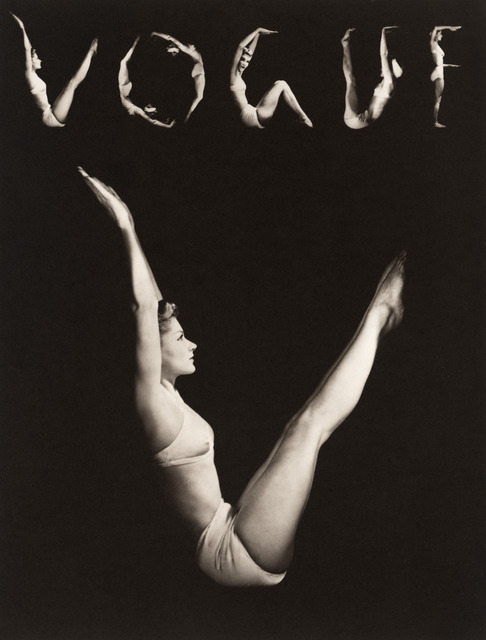Horst P. Horst, 'Lisa As V.O.G.U.E.,' 1940, Vogue Archives
