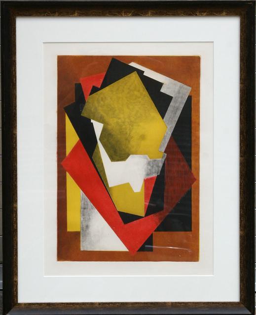 Jacques Villon, 'Cubist Composition', 1927, Print, Aquatint Etching, RoGallery