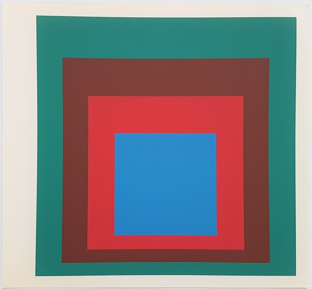 Josef Albers, 'Homage to the Square: Protected Blue', 1977, Cerbera Gallery