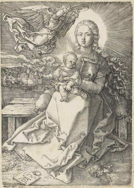 Albrecht Dürer, 'The Virgin and Child crowned by one Angel', 1520, Christie's