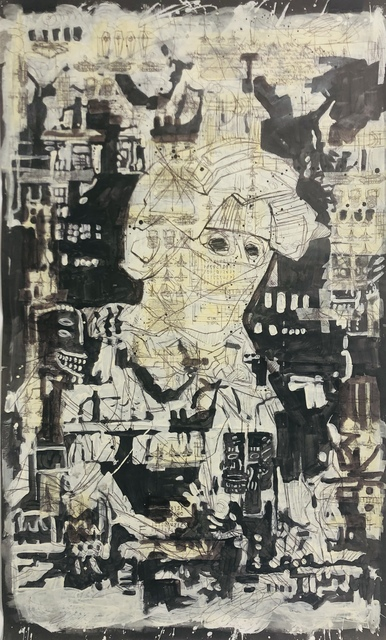 Waseem Marzouki, 'Proxy - 6', 2018, Disruptive Canvas