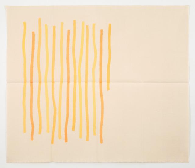 , 'Quasi Verticale Giallo,' 1976, Casey Kaplan