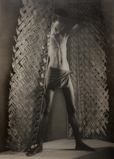 , 'Untitled (Man with palm made fan),' ca. 1935, Jhaveri Contemporary
