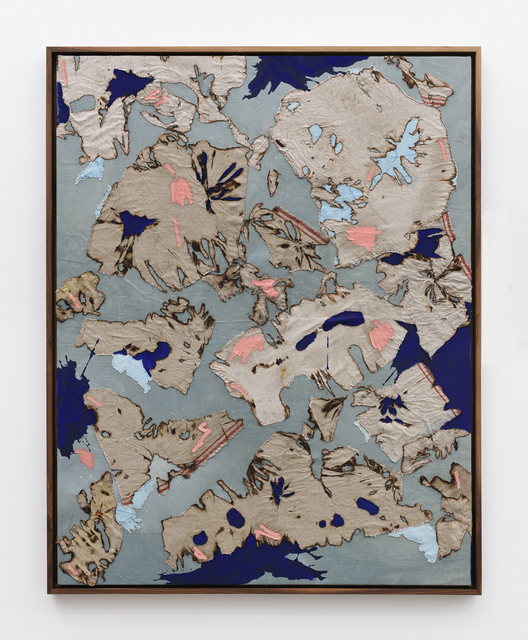, 'Continental Drift #4,' 2017, Anat Ebgi