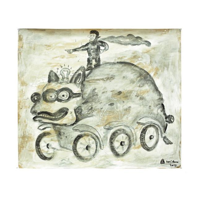 , 'Trojan Pig,' 2013, Baik Art