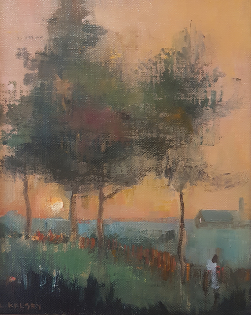 , 'Evening Glow,' 2007, Madelyn Jordon Fine Art