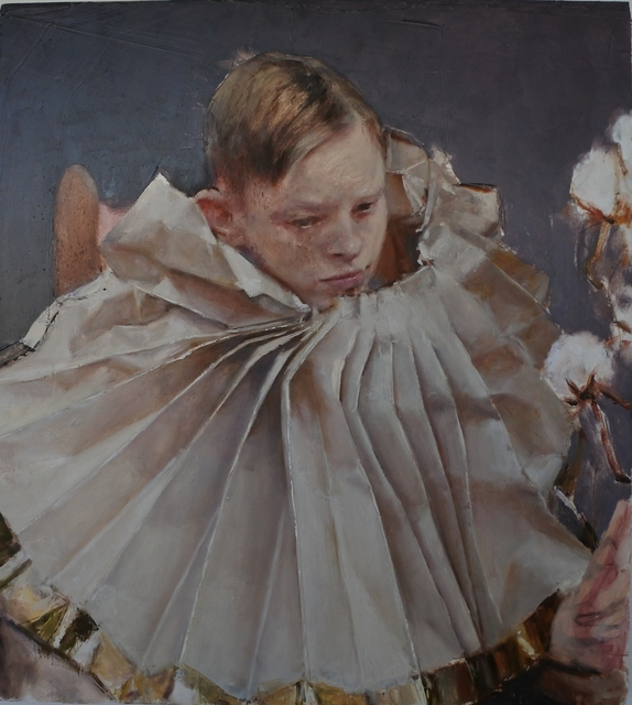 , 'Charles with the collar,' 2017, Galleria Doris Ghetta