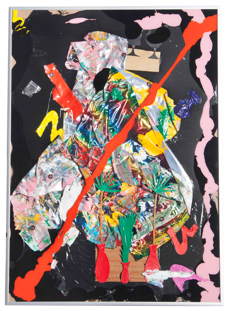 , 'an abstraction for davidhammons andmatthew ritchie,' 2016, Hollis Taggart Galleries
