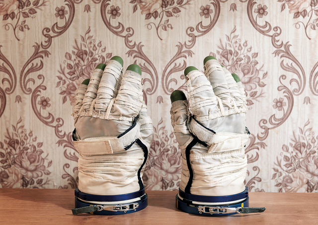 , 'Sokol Space Glove, Yuri Gagarin Cosmonaut Training  Center (GCTC), Star City, Zvyozdny Gorodok, Russia,' 2007, [Perpitch et Bringand]