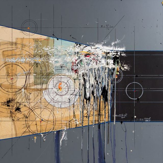 Étienne Gélinas, 'Composition 386', 2014, Thompson Landry Gallery
