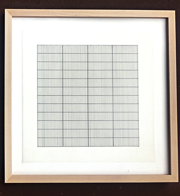 , 'Untitled Lithograph on Vellum Parchment, from Stedelijk Museum (Framed),' 1990, Alpha 137 Gallery