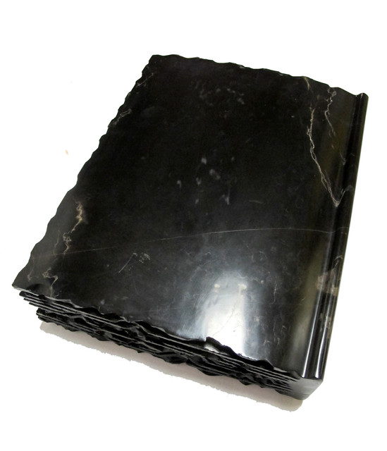 , 'Large Book - Black marble,' 2016, DECORAZONgallery