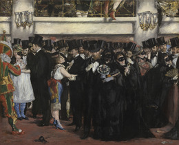 Édouard Manet, 'Masked Ball at the Opera', 1873, National Gallery of Art, Washington, D.C.