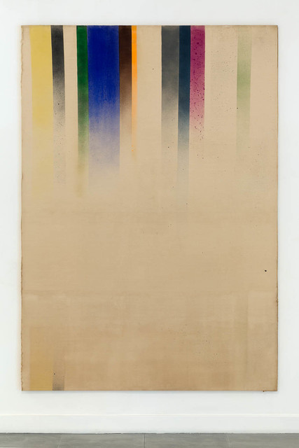 , 'Roller Blind Painting,' 1965, Richard Saltoun