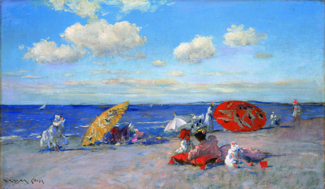 , 'At the Seaside,' ca. 1892, Phillips Collection