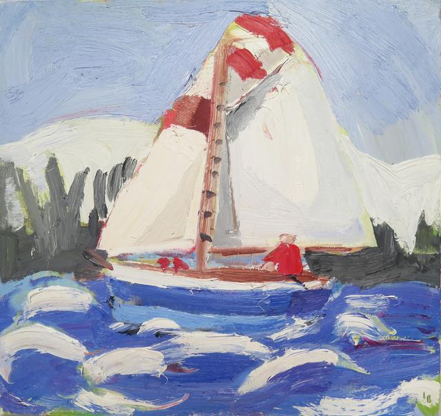 , 'Winter Sailing,' 2018, Sladers Yard