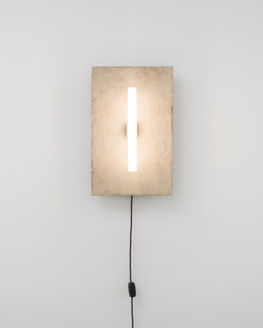 , 'Stoned Wall Lamp,' 2015, Etage Projects