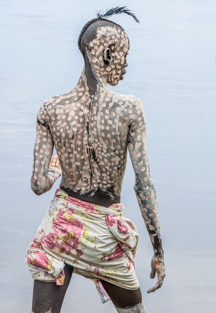 , 'Kara Man Painted for Courtship, Omo Valley, Ethiopia ,' 2013, THK Gallery