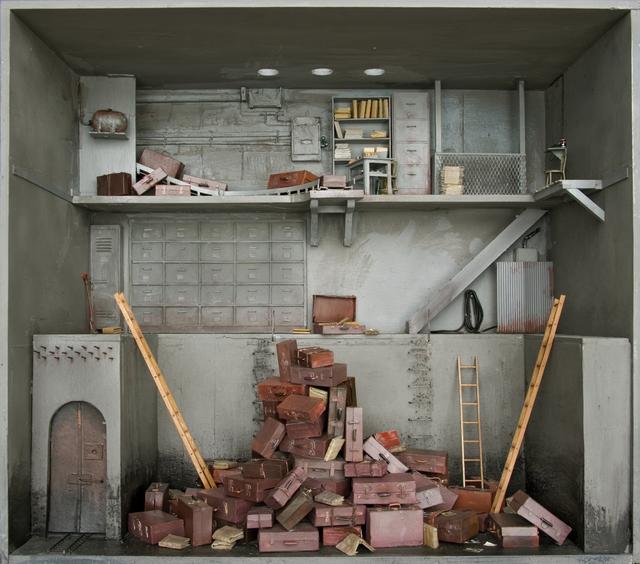 , 'Les valises,' 2012, Jonathan LeVine Projects