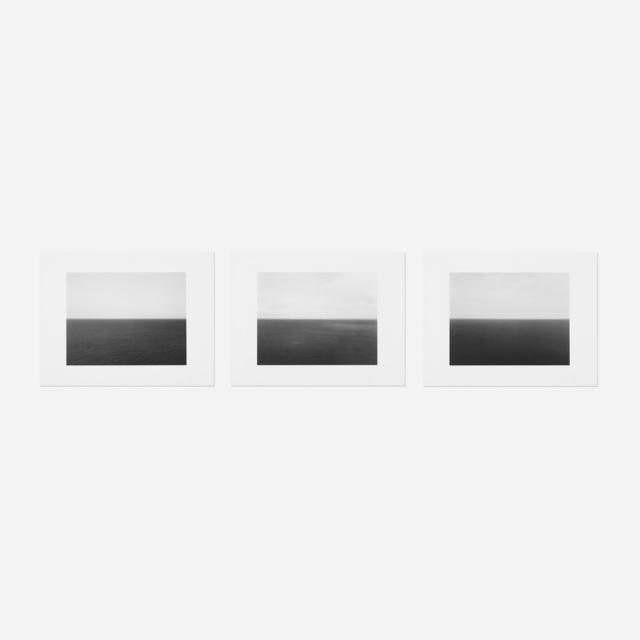 Hiroshi Sugimoto, 'three works from the Time Exposed portfolio', 1990, Wright