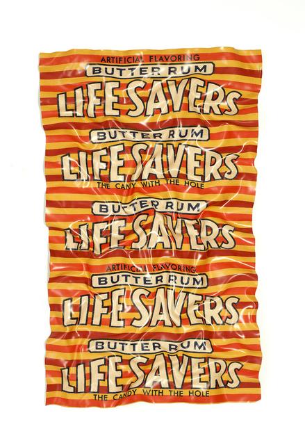 , 'Life Savers Butter Rum 2,' 2018, Galerie de Bellefeuille