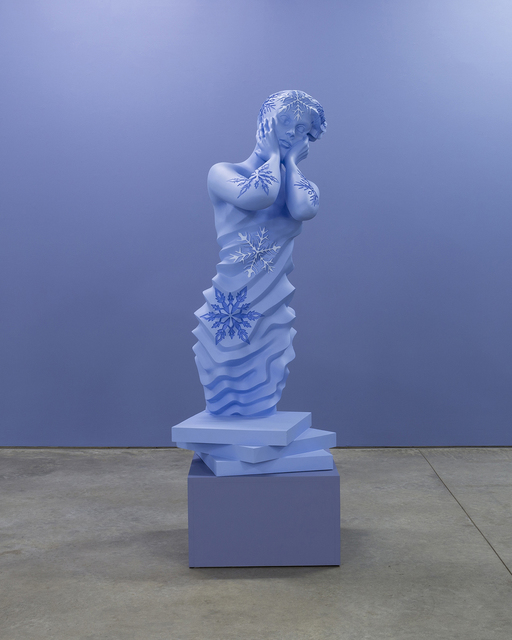 Sandy Skoglund, 'Blue Ice', 2017, Sculpture, Digital sculpture cast in polyester resin, RYAN LEE