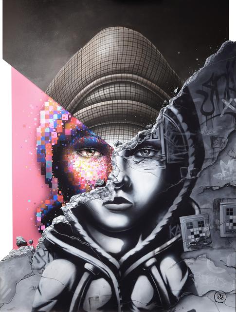 , 'Fragment,' 2018, Avenue des Arts