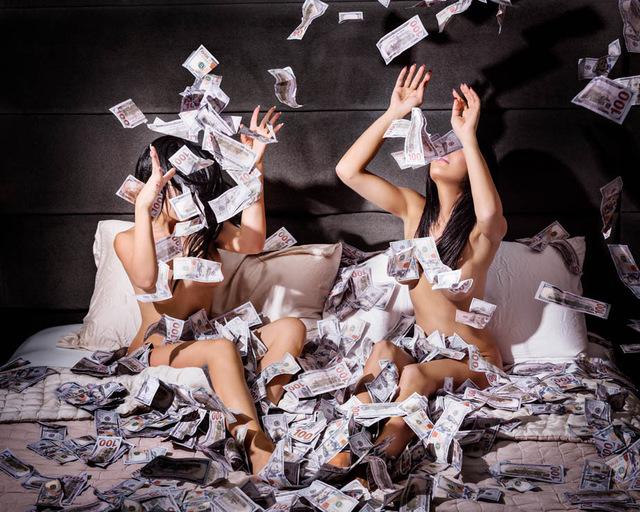 David Drebin, 'Money Shot', 2018, Laurent Marthaler Contemporary