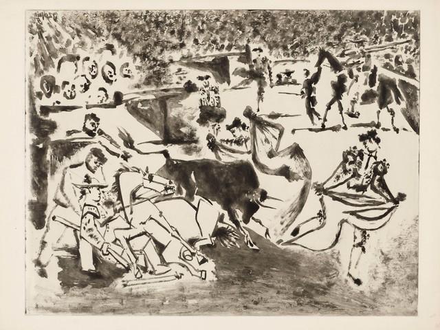 , 'Le Picador blessé,' 1952, John Szoke