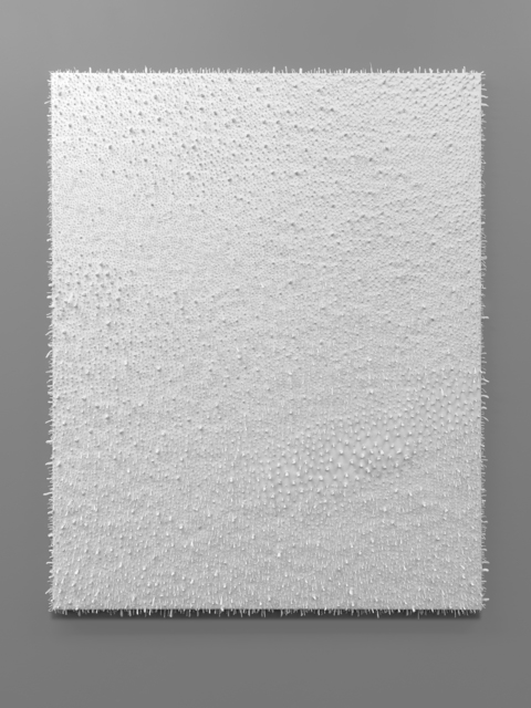, 'White / White #1,' 2014, Anne Mosseri-Marlio Galerie