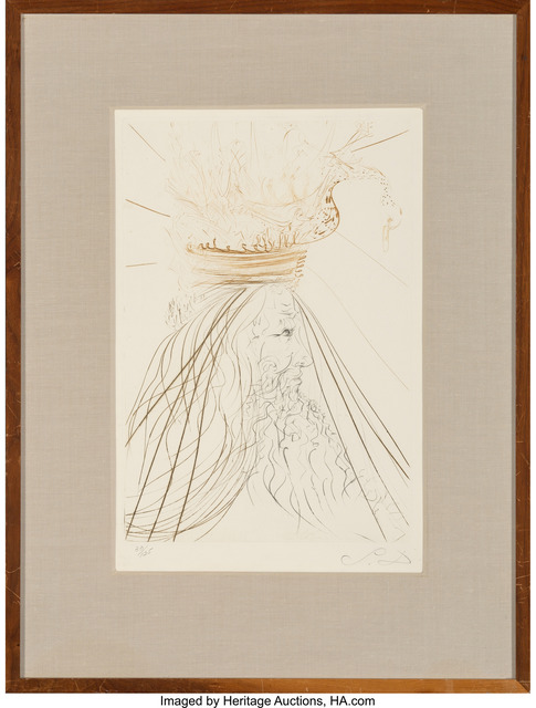 Salvador Dalí, 'Le roi Marc, from Tristan and Iseult', 1970, Heritage Auctions