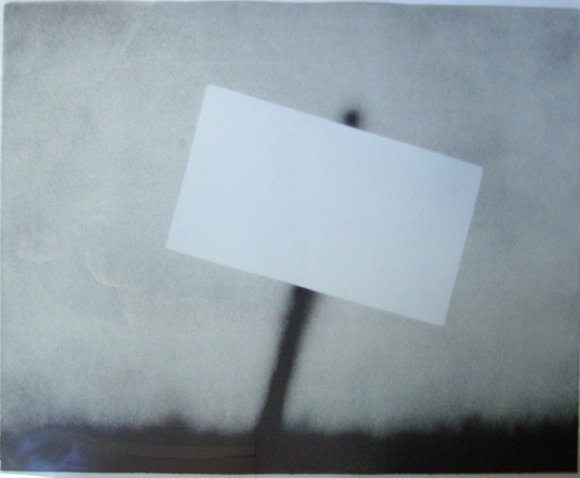 Ed Ruscha, 'Untitled (Blank Sign)', 1989, Hamilton-Selway Gallery Auction